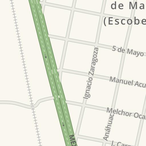 Waze Livemap Como Llegar A Pemex Es02210 Primero De Mayo Escobedo Mexico