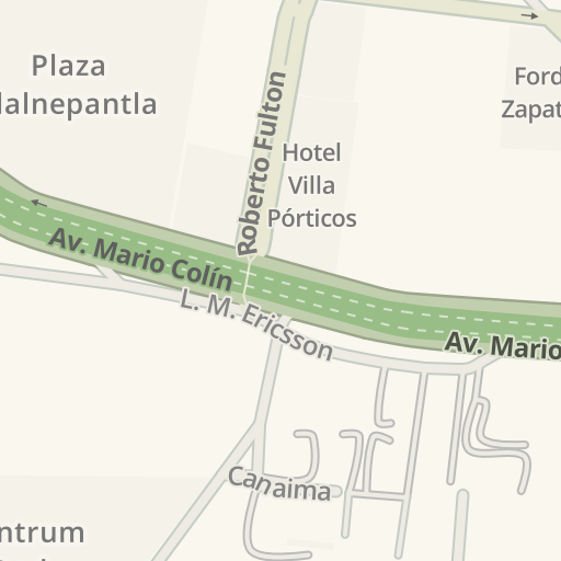 Tlalnepantla Mexico Map.Waze Livemap Driving Directions To At Amp T Cap Tlalnepantla
