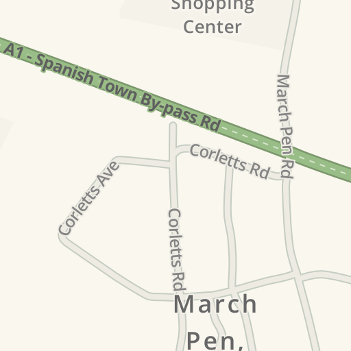 Driving Directions to Courts Jamaica Ltd , March Pen, Spanish Town