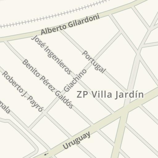 Waze Livemap - Driving Directions to ZP Villa Jardín, Boulogne Sur ...