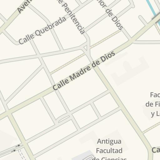 Waze Livemap Cómo Llegar A Casa Del Estudiante Universidad De