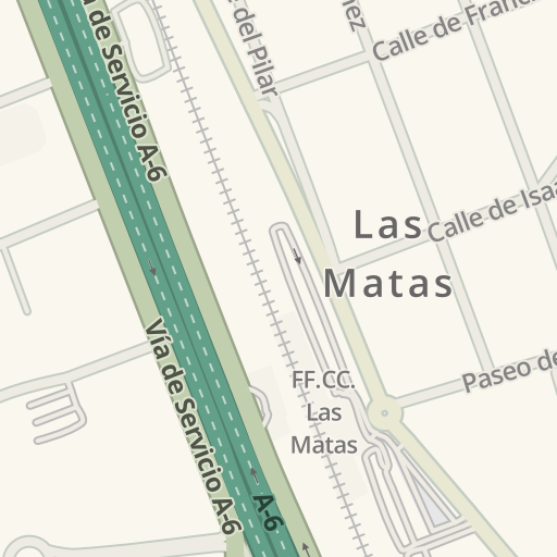 Waze Livemap Como Llegar A El Jardin Del Mesonero Las Matas Espana