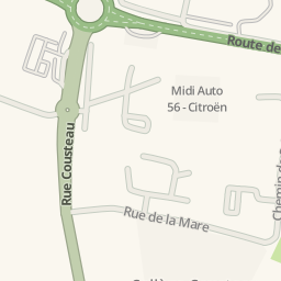 Waze Livemap Driving Directions To Brico Cash Séné France
