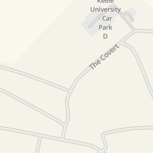 Map Of England Keele.Waze Livemap Driving Directions To Colin Reeves Building Keele