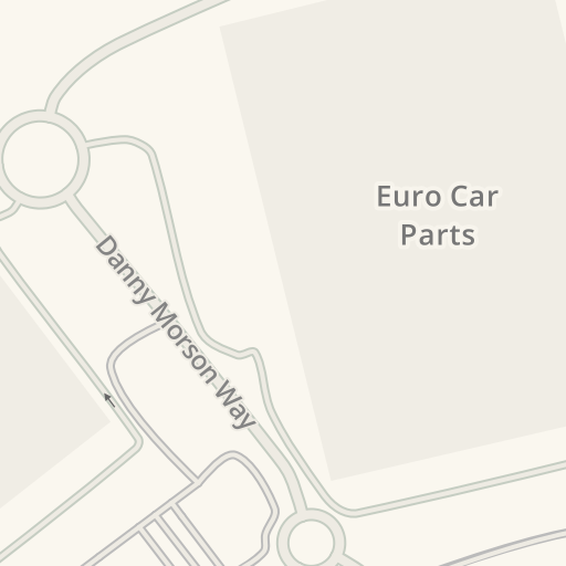 Waze Livemap Driving Directions To Eurocarparts T2 Tamworth
