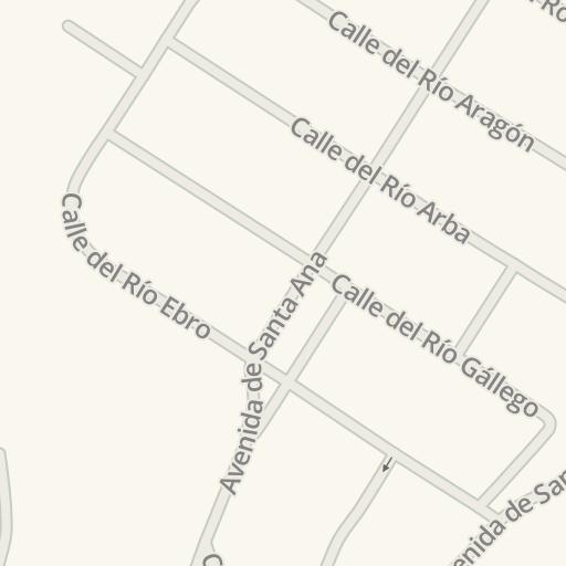 Waze Livemap - Cómo llegar a Padel Indoor Aragón, Cuarte de Huerva ...