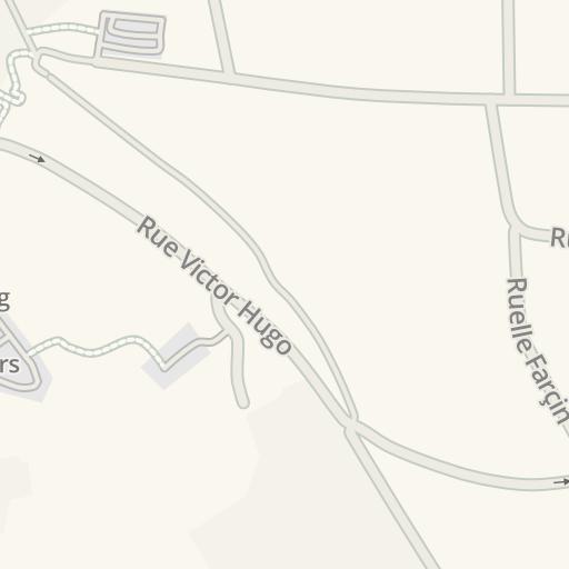 Waze Livemap Driving Directions To Le Blason Amboise France