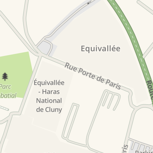 Cluny France Map.Waze Livemap Driving Directions To Haras National De Cluny Cluny