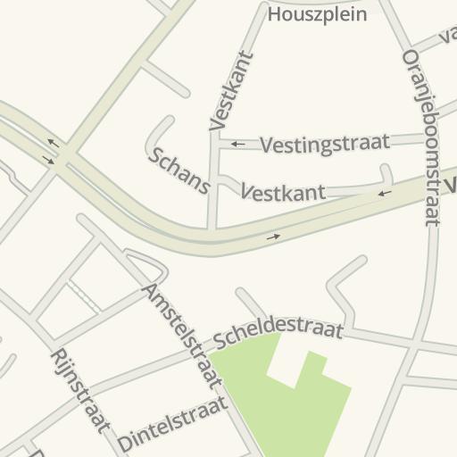 Waze Livemap Cómo Llegar A Tattoo Lounge Breda Netherlands