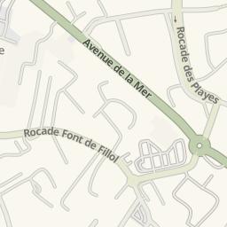 Waze Livemap   Cómo Llegar A Piscine Municipale, Six Fours Les Plages,  France