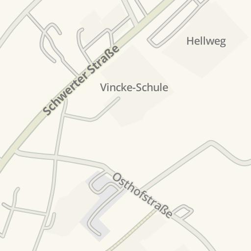 Waze Livemap Driving Directions To St Johannes Hospital