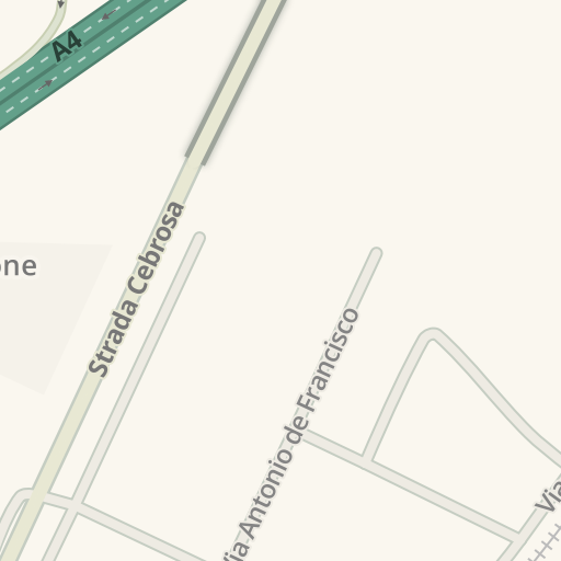 Waze Livemap Driving Directions To Conforama Settimo Torinese Italy