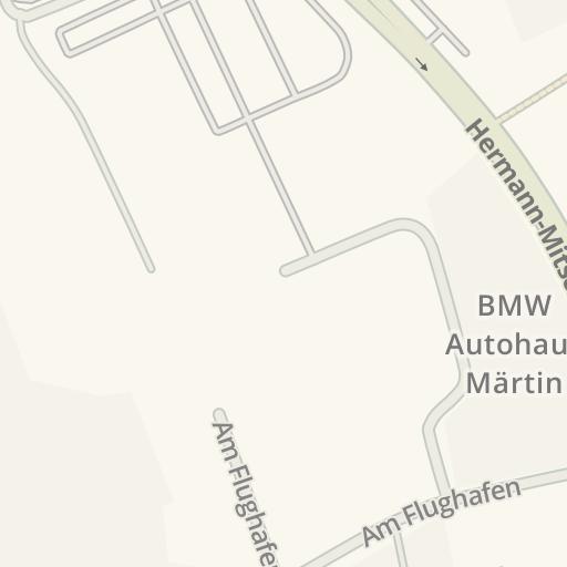 Waze Livemap Driving Directions To Braun Mobel Center Freiburg