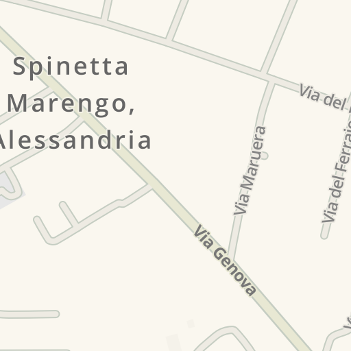 Alessandria Italy Map.Waze Livemap Driving Directions To Gulliver Spinetta Marengo