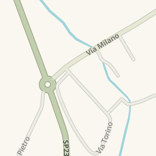 Waze Livemap - Driving Directions to Giem MondoModa, Olgiate Comasco ...