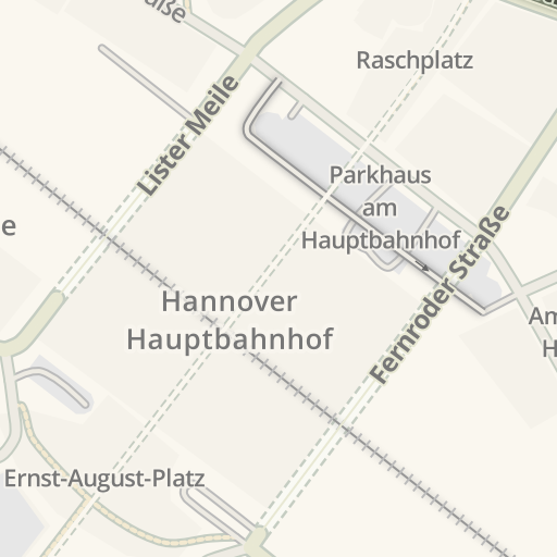 Waze Livemap Driving Directions To Parkhaus Ernst August Galerie