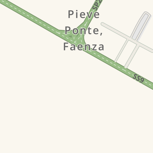 Waze Livemap - Driving Directions to SVA Plus Srl, Faenza, Italy