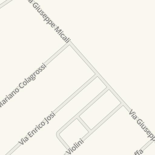 Waze Livemap Driving Directions To Emmeerre Arredamenti Ostia
