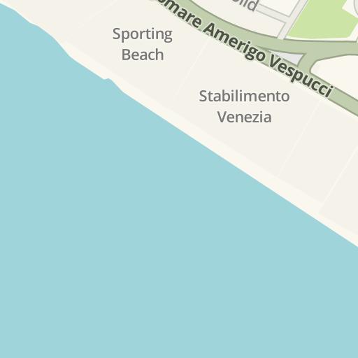 Waze Livemap Driving Directions To Shilling Lido Di Ostia Roma