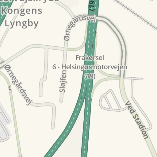 Waze Livemap - Driving Directions to Gentofte Stadion ...