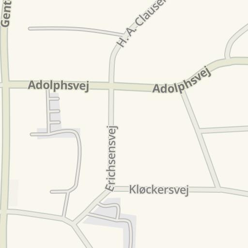 Waze Livemap - Driving Directions to Fitnessdk - Gentofte, Gentofte ...