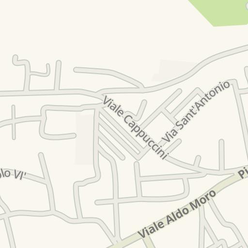 San Giovanni Rotondo Italy Map.Waze Livemap Driving Directions To Asilo San Giovanni Rotondo Italy