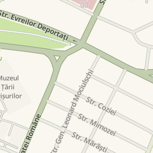 Waze Livemap Driving Directions To Salon Mistique Oradea Romania