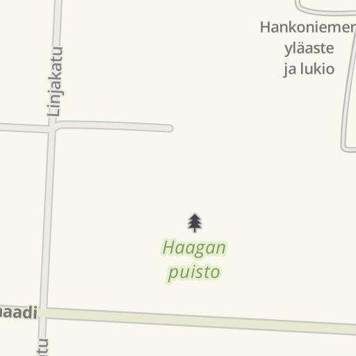Waze Livemap - Driving Directions to Haagan puisto, Hanko