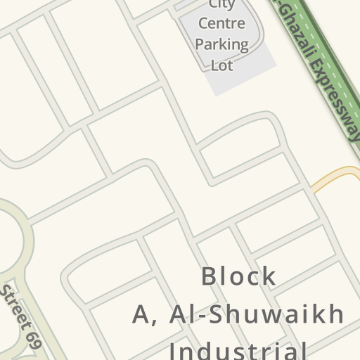 Driving Directions to Creative Design Center, Shuwaikh