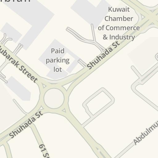 Driving Directions to Al Hafiz Printing Service, Kuwait City - مدينة