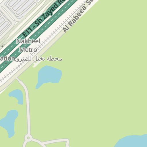 Waze Livemap - Driving Directions to Pfizer building, Dubai, دبي on