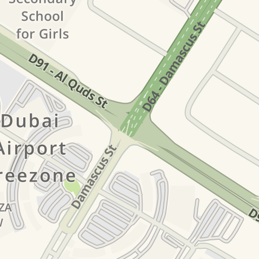 on dubai road map directions