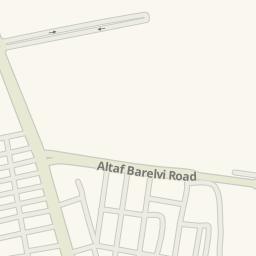 Waze Livemap - Driving Directions to Urdu Bazaar Nazimabad, Karachi