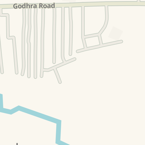 Driving Directions to Hindi Higher Secondary School, Dahod