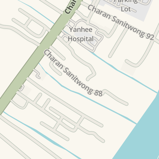 Waze Livemap - Driving Directions to Yanhee Hospital, Bang
