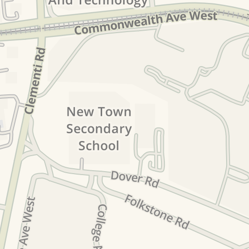 Waze Livemap - Driving Directions to NUS Stephen Riady