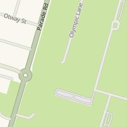 Hay Park Bunbury Map
