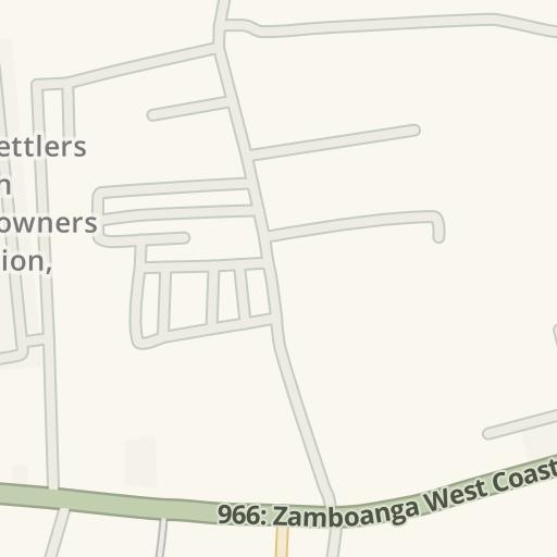 Driving Directions to EMCOR Recodo, Zamboanga City, Philippines | Waze