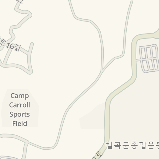 Waze Livemap Driving Directions To Camp Carroll Aafes Px Camp