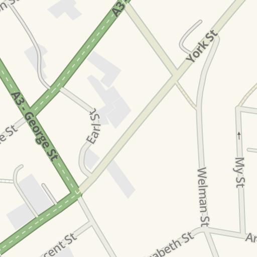 Waze Livemap - Driving Directions to Telstra Exchange, Launceston
