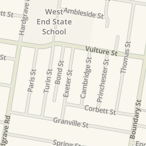 Driving Directions to Uber Greenlight Hub, West End, Australia | Waze