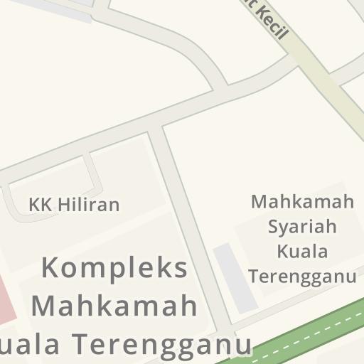 Instruções De Direção Para Jkr Cawangan Kejuruteraan Mekanikal Jalan Bukit Kecil Kuala Terengganu Waze