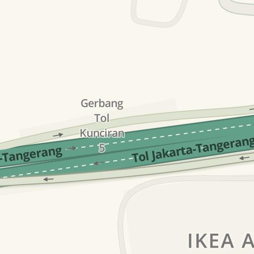 Petunjuk Arah Berkendara Ke Ikea Alam Sutera Jalur Sutera Blvd 45 Tangerang Waze