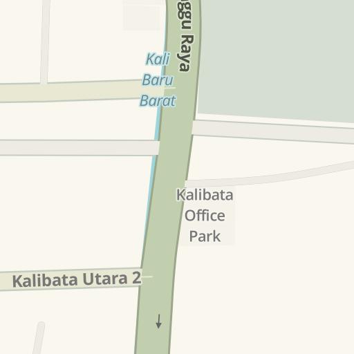 Driving Directions To Bank Bri Unit Kalibata No 10 Jl Raya Pasar Minggu Waze