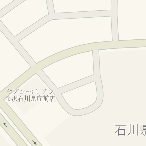 Navigačné pokyny do セブン−イレブン 金沢石川県庁前店, 金沢市 - Waze