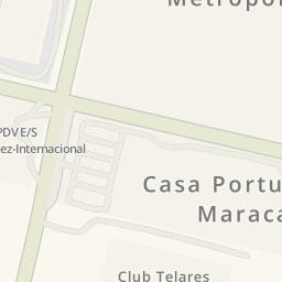 Driving directions to Mercado Mayorista Metropolitano Turmero
