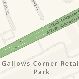 Furniture Village Gallows Corner driving directions to furniture village, harold wood, united